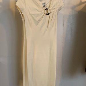 Semi-Formal Off-White Dress